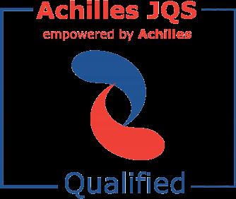 Achilles JQS Certificate of Qualification