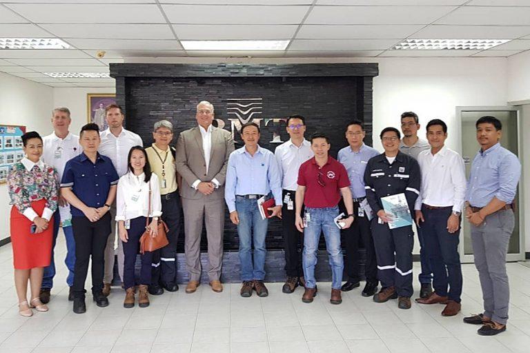 Chevron Visits BMT Thailand Mercury Waste Processing Facility