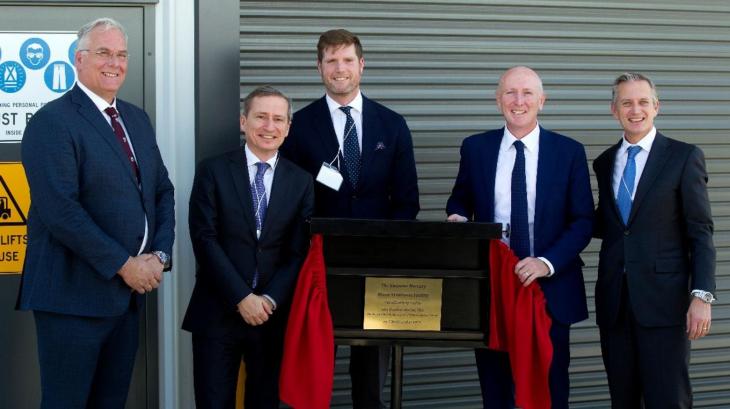 BMT Australian state-of-the-art mercury treatment facility opening - Opening team BMT Australia Kwinana